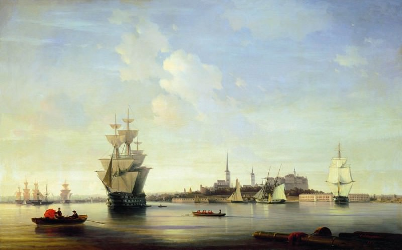 1844 Revel 118h188. Ivan Konstantinovich Aivazovsky