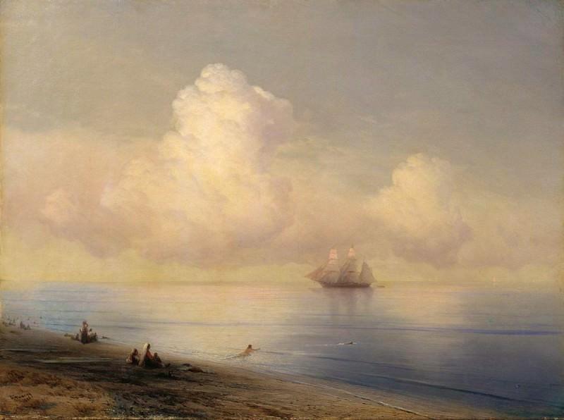 Calm Sea 1876. Ivan Konstantinovich Aivazovsky
