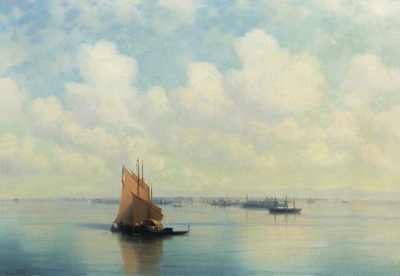 Seascape 1871 72h103. Ivan Konstantinovich Aivazovsky