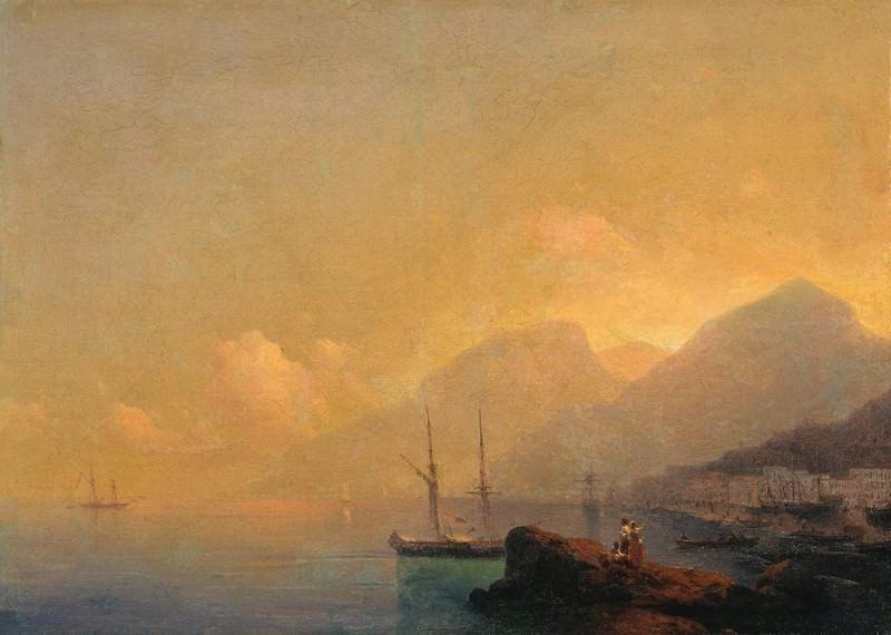 Seascape 70h98. Ivan Konstantinovich Aivazovsky