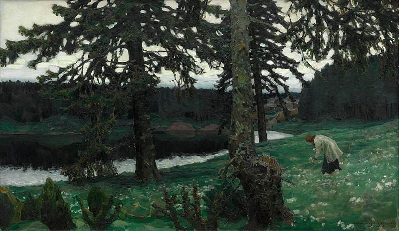 Lake. Apollinaris M. Vasnetsov