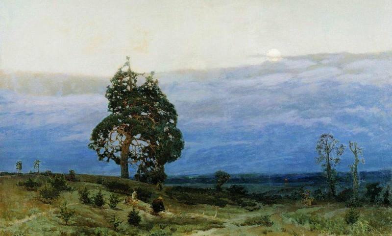 Twilight. 1889. Apollinaris M. Vasnetsov