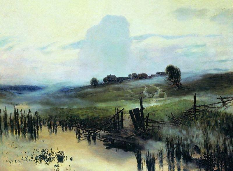 Утро. 1892. Аполлинарий Михайлович Васнецов