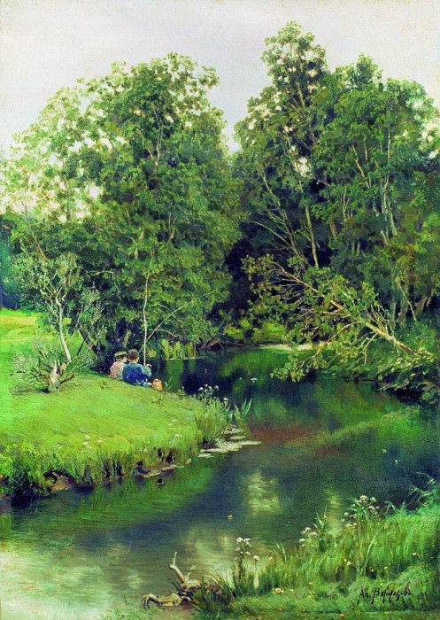Fishers. 1886-1887. Apollinaris M. Vasnetsov