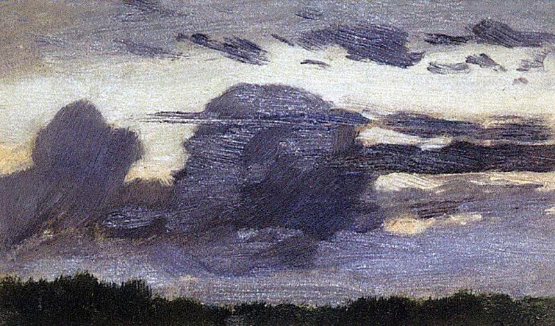 Oblaka2. 1880-1890-e. Apollinaris M. Vasnetsov