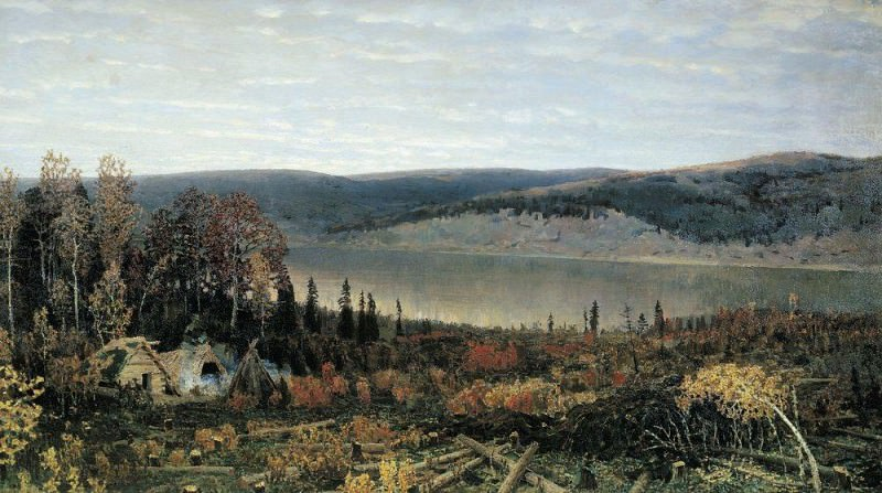 Кама. 1895. Аполлинарий Михайлович Васнецов