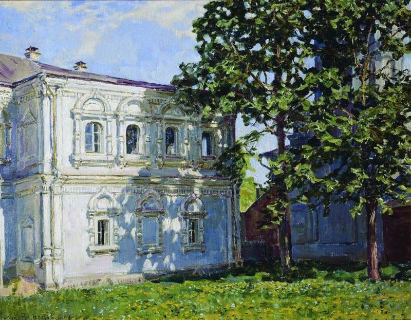 Дом бывшего Археологического общества на Берсеневке. 1923. Аполлинарий Михайлович Васнецов