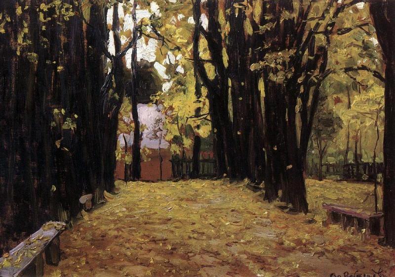 Autumn. 1910. Apollinaris M. Vasnetsov