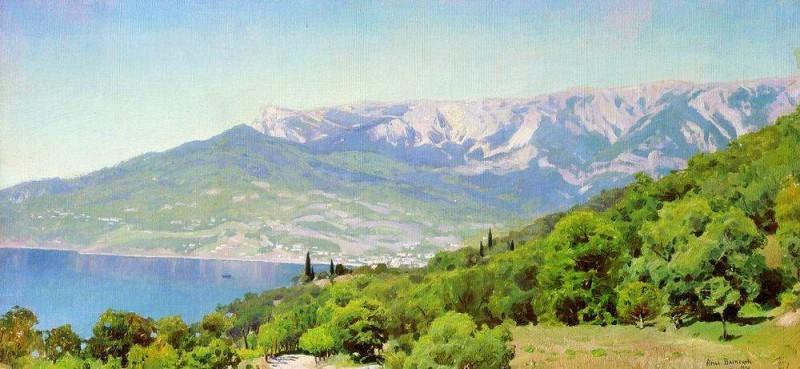 Crimea. 1890. Apollinaris M. Vasnetsov