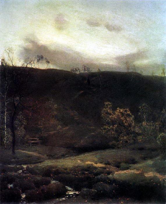 Spring silence. 1890. Apollinaris M. Vasnetsov