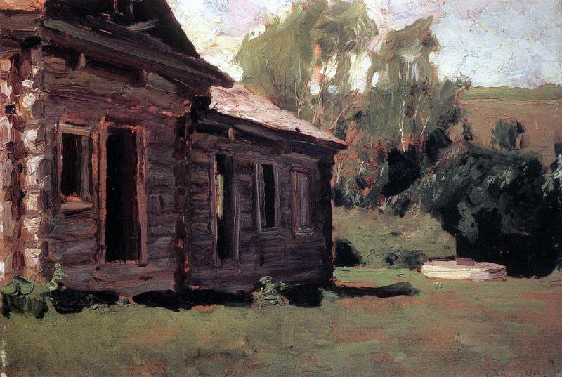 Старый дом. Аполлинарий Михайлович Васнецов
