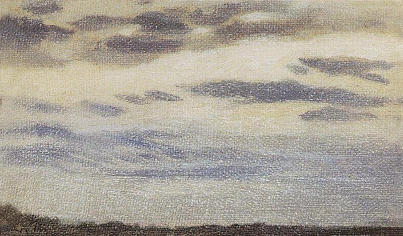 Oblaka1. 1880-1890-e. Apollinaris M. Vasnetsov