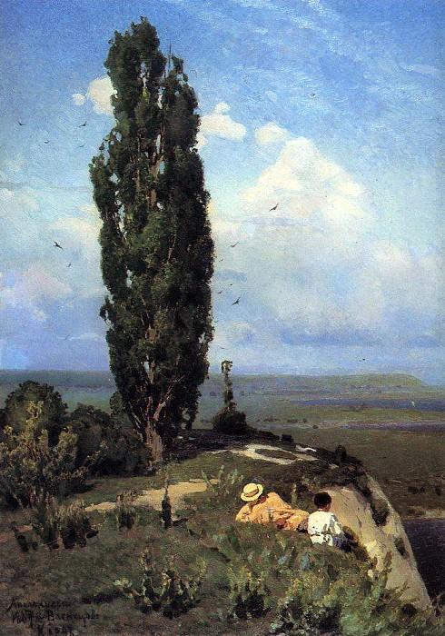 poplar. 1887. Apollinaris M. Vasnetsov