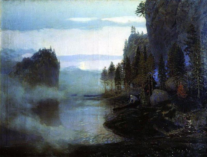 ballad. Ural. 1897. Apollinaris M. Vasnetsov