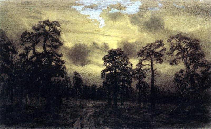 Night. Ural. Apollinaris M. Vasnetsov