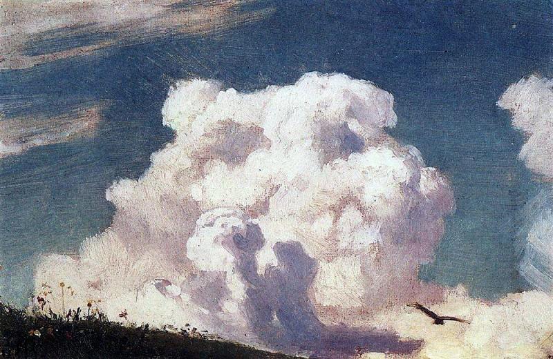 Clouds. 1880. Apollinaris M. Vasnetsov