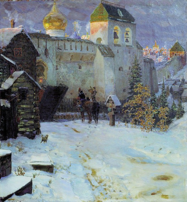 Old Russian Cities. Apollinaris M. Vasnetsov