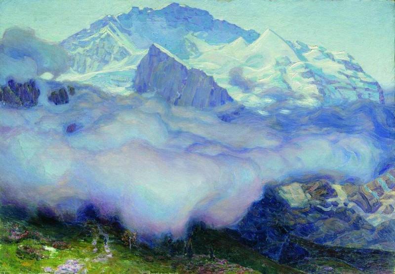 Jungfrau. Wengen. 1912. Apollinaris M. Vasnetsov