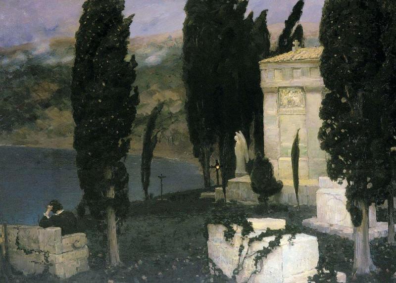 Elegy. 1893. Apollinaris M. Vasnetsov