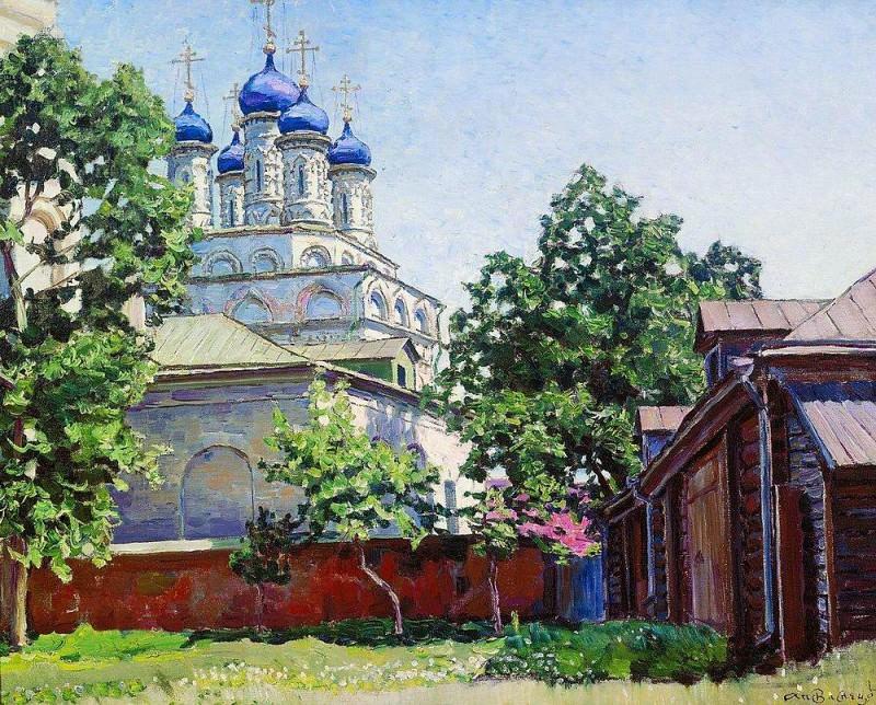 Trinity Church on Bersenevke. 1922. Apollinaris M. Vasnetsov