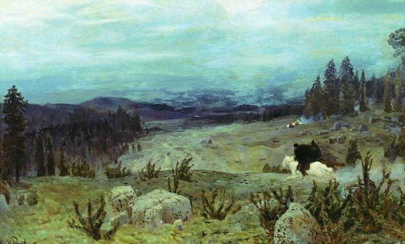 Siberia. 1894. Apollinaris M. Vasnetsov
