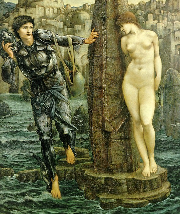 Perseus Series: The Rock of Doom. Sir Edward Burne-Jones