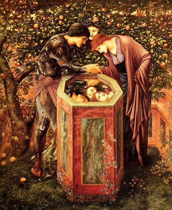 The Baleful Head. Sir Edward Burne-Jones