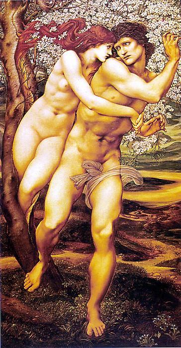 Tree Of Forgiveness. Sir Edward Burne-Jones