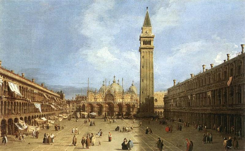 Piazza San Marco 1730. Canaletto (Giovanni Antonio Canal)