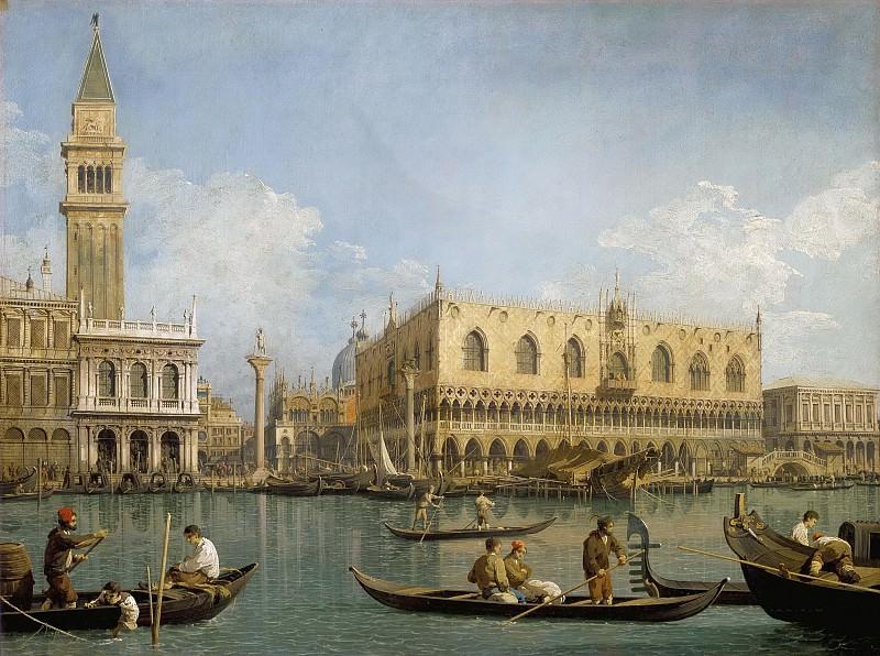View of the Bacino di San Marco. Canaletto (Giovanni Antonio Canal)