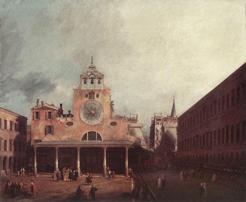 San Giacomo Di Rialto. Canaletto (Giovanni Antonio Canal)