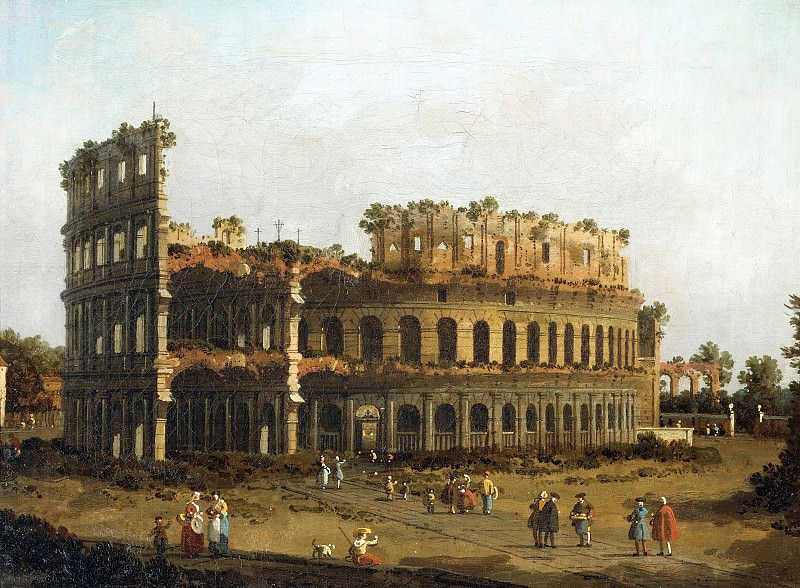 The Colosseum. Canaletto (Giovanni Antonio Canal)