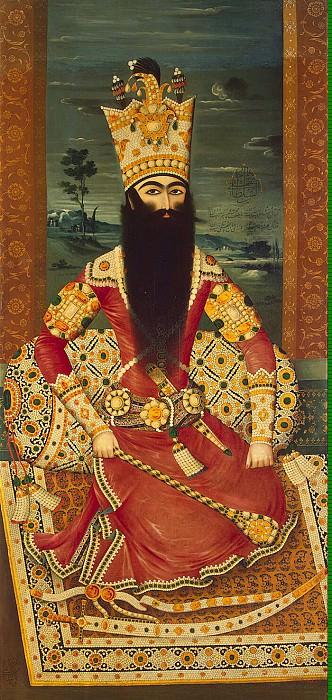 Михр-Али - Портрет сидящего Фатх-Али-шаха. Эрмитаж ~ часть 8