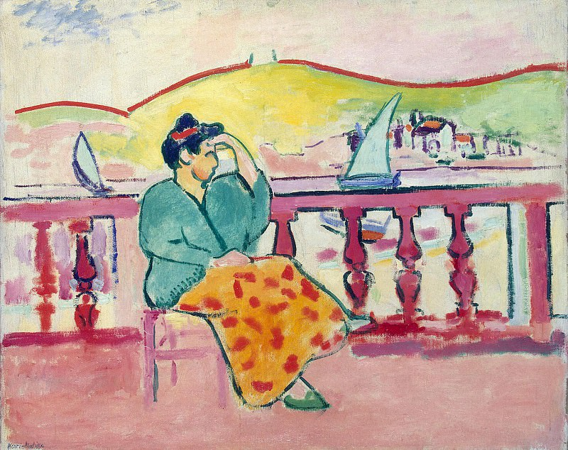 Matisse, Henry. Lady on the terrace. Hermitage ~ part 08