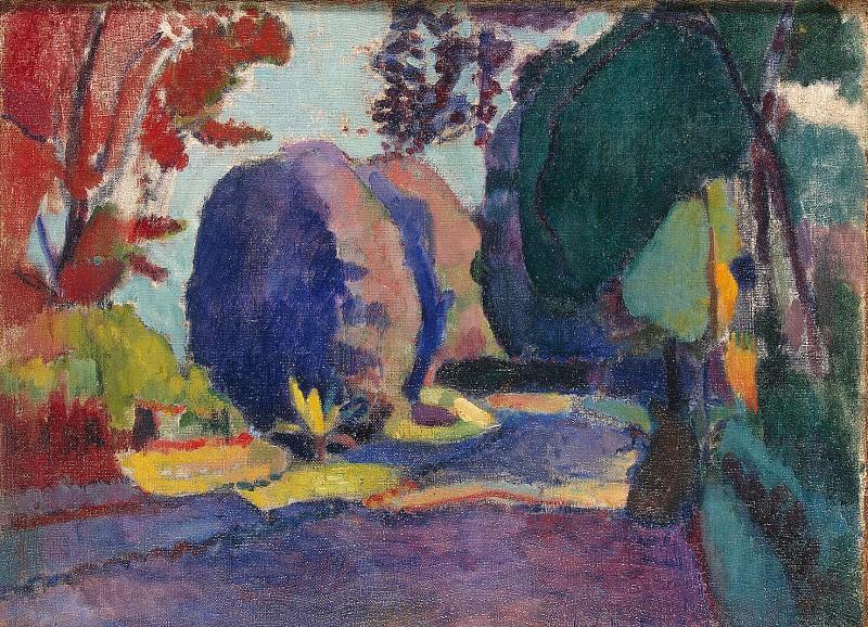 Matisse, Henry. Luxembourg Garden. Hermitage ~ part 08