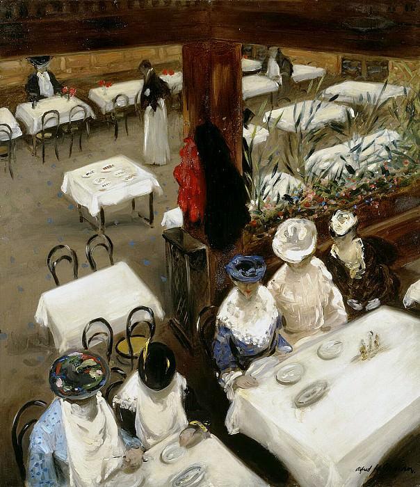 Maurer, Alfred Henry. Cafe. Hermitage ~ part 08