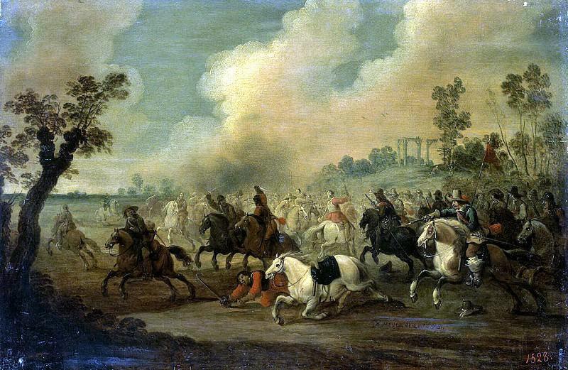 Meylenar, Peter. Cavalry battle. Hermitage ~ part 08