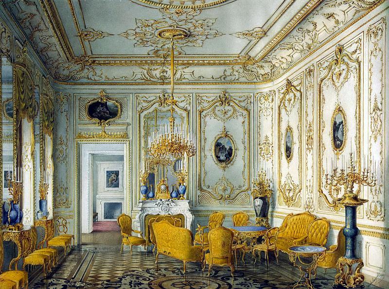 Мейблюм, Жюль - Дворец графа П. С. Строганова. Желтая гостиная. Эрмитаж ~ часть 8