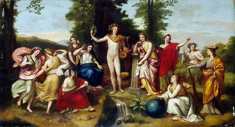 Mengs, Anton Raphael. Parnassus. Hermitage ~ part 08