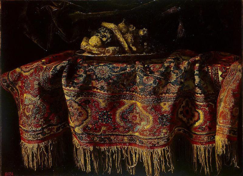 Мальтезе, Франческо - Натюрморт с восточным ковром. Эрмитаж ~ часть 8