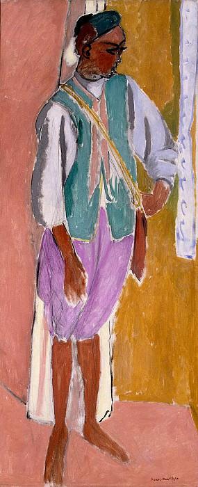 Matisse, Henry. Marrokkanets Amido. Hermitage ~ part 08