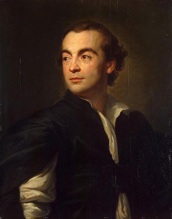 Mengs, Anton Raphael. Portrait of Johann Joachim Winckelmann. Hermitage ~ part 08