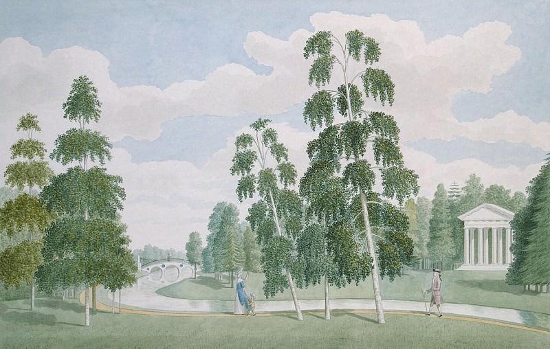 Мидер, Джеймс - Английский парк в Петергофе. Вид с Березовым домиком. Эрмитаж ~ часть 8