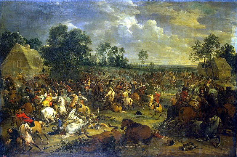 Meulen, Adam Franz van der. Battle. Hermitage ~ part 08