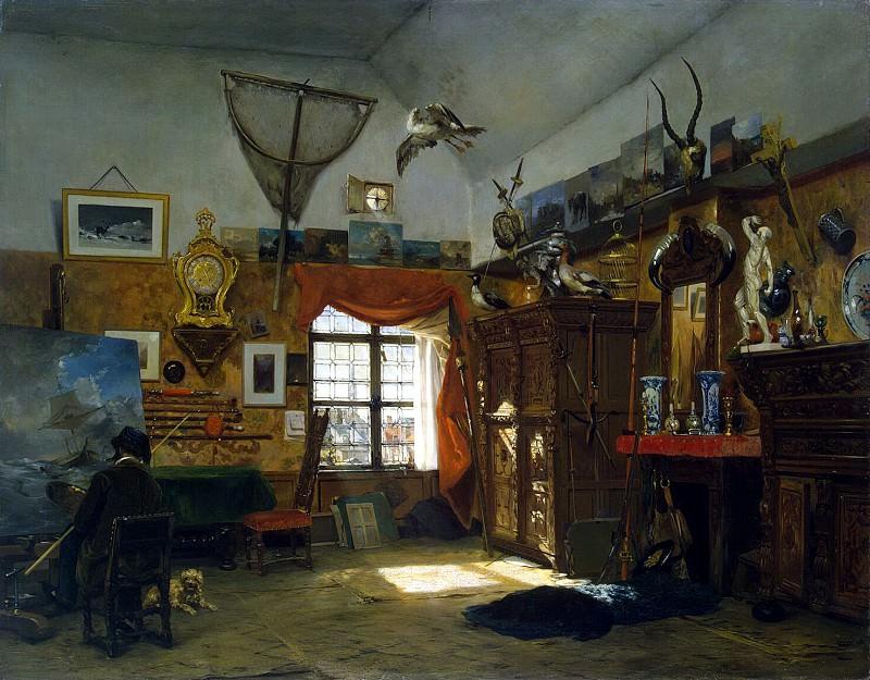 Moore, Jean-Baptiste van. Studio artist. Hermitage ~ part 08
