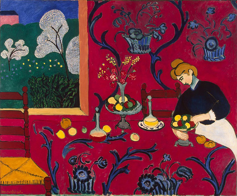 Matisse, Henry. Red Room. Hermitage ~ part 08