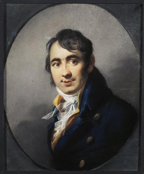 Molinari, Alexander. Portrait of Christopher Raeder Fedorovich. Hermitage ~ part 08