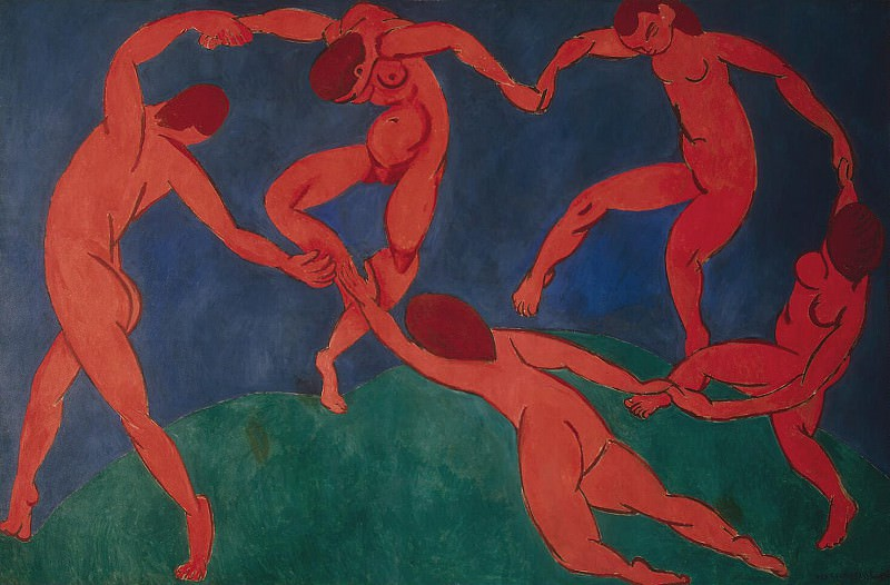 Matisse, Henry. Dance. Hermitage ~ part 08