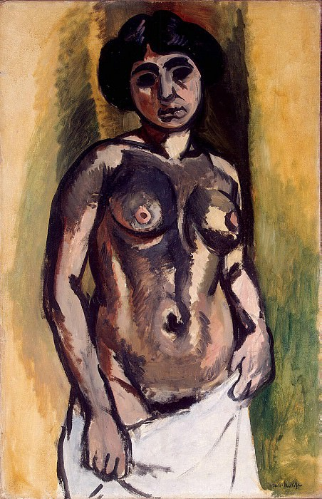 Matisse, Henry. Nude. Black gold. Hermitage ~ part 08