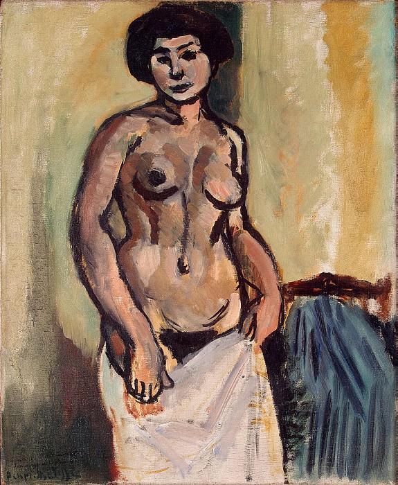Matisse, Henry. Nude. Hermitage ~ part 08